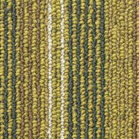 Tessera Barcode Carpet Tile Double Yellow Line 311