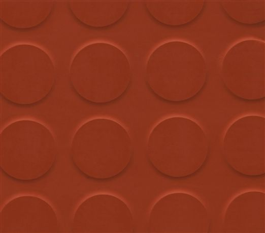 Red studded rubber tiles (24 SqM)