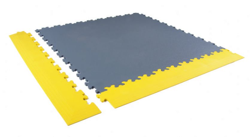 Yellow safety ramps