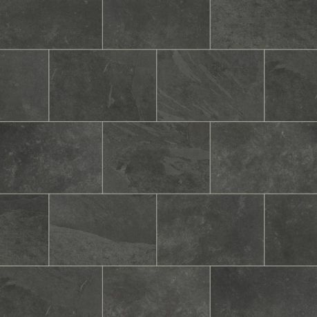 Karndean Knight Tile - Black Riven Slate ST15