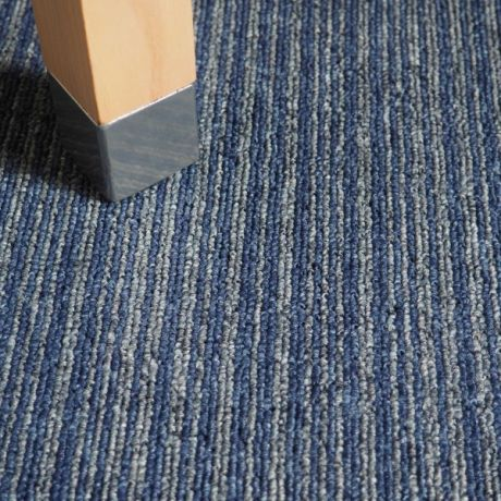 Lyon Lines - Azure Carpet Planks