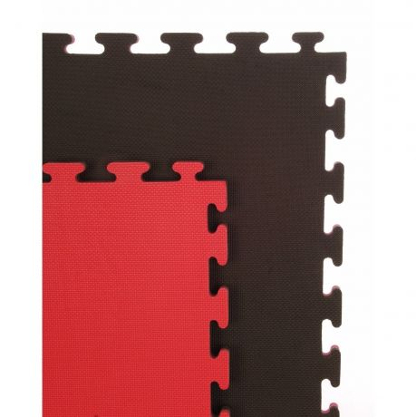 Martial Arts Premium Mats - Reversible 20mm Standard Red & Black