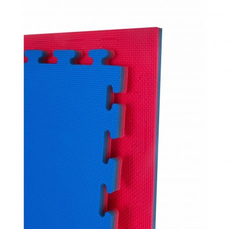Martial Arts Basic Mats - Reversible 20mm Standard Red & Blue
