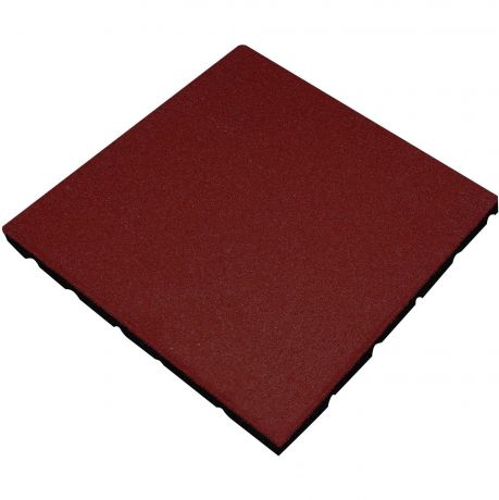 Playground Tile - Red 20mm