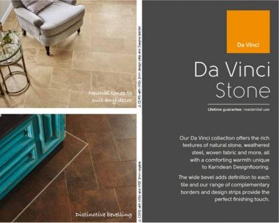 Karndean Da Vinci stone collection